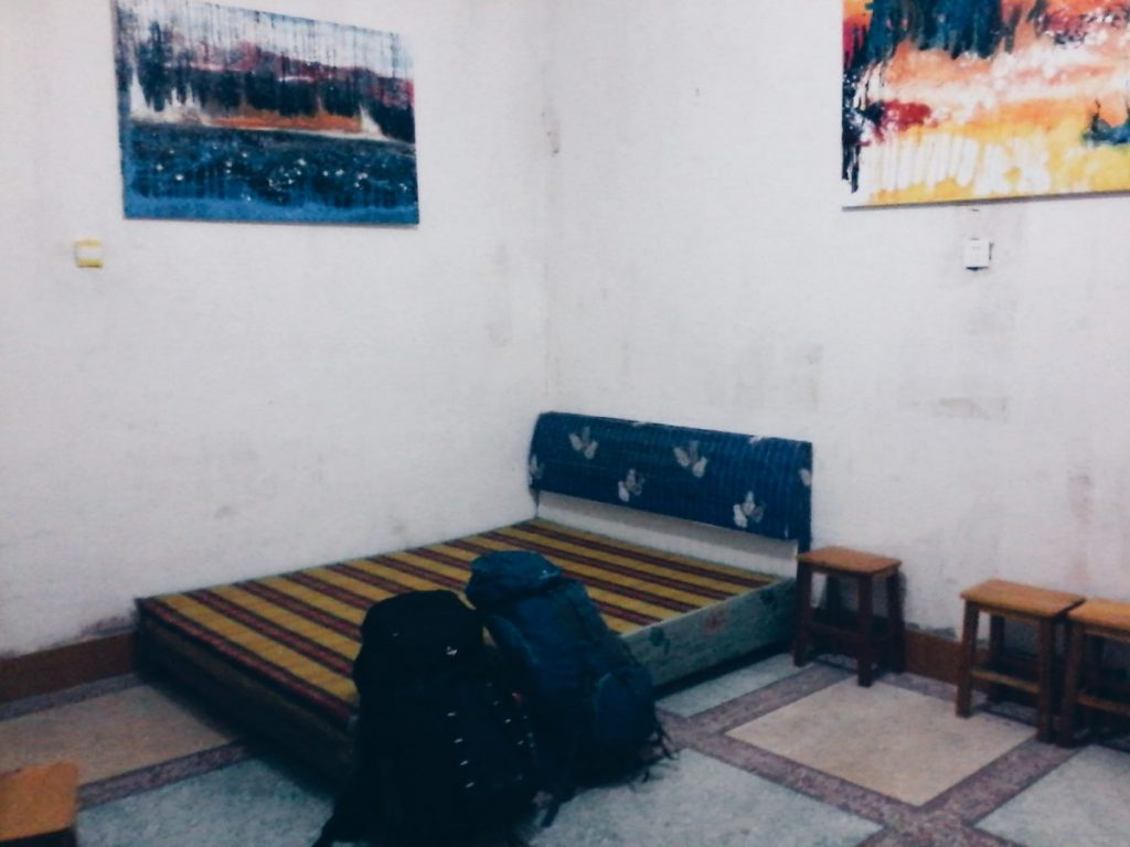 Stanza esperienza couchsurfing