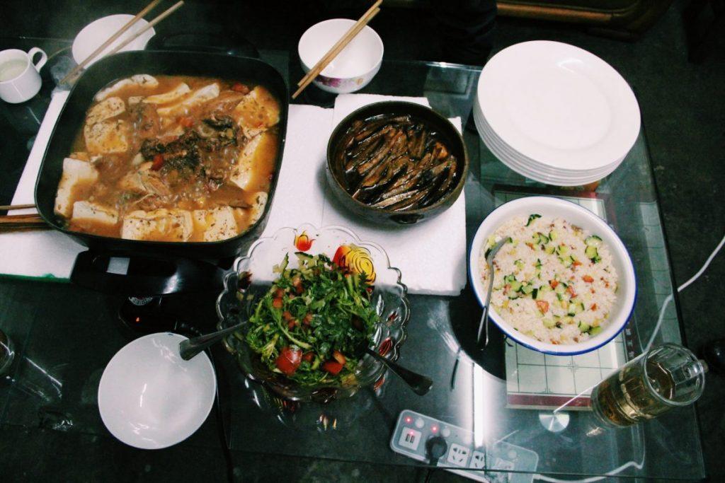 Esperienza couchsurfing: Cena cinese