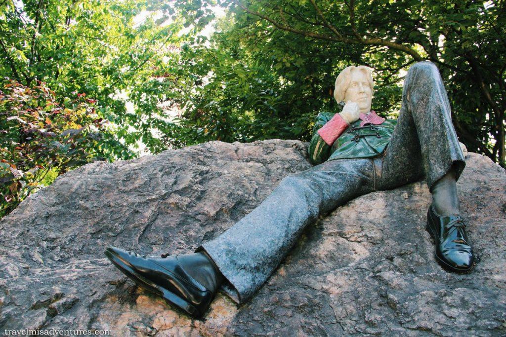 Statua di Oscar Wilde