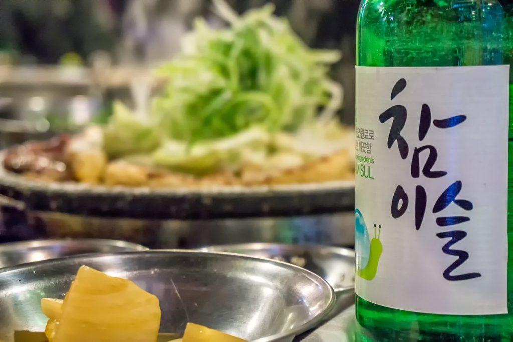 Soju coreano