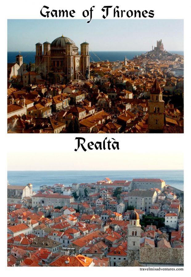 Luoghi dove hanno girato il Trono di Spade in Croazia