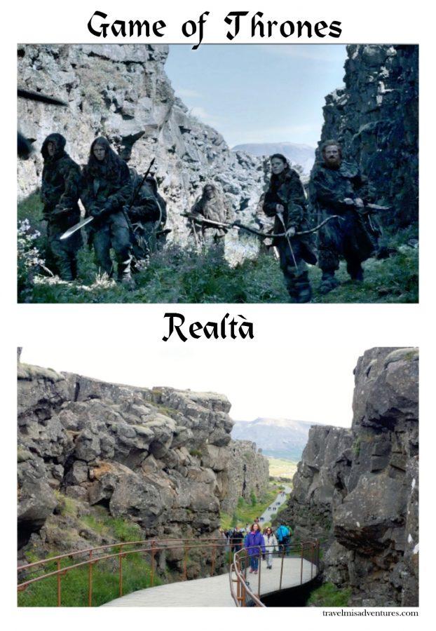 Dove hanno girato il Trono di Spade in Islanda