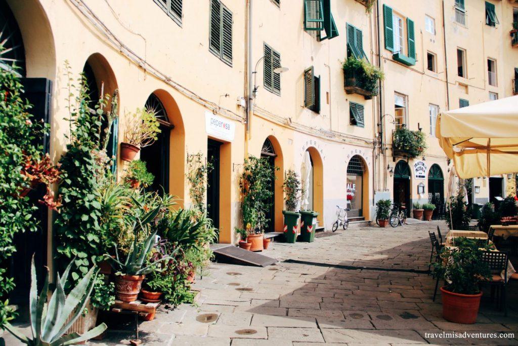 un giorno a Lucca Itinerario