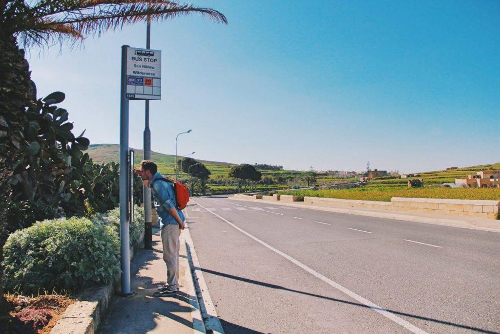 spostarsi in autobus a Malta