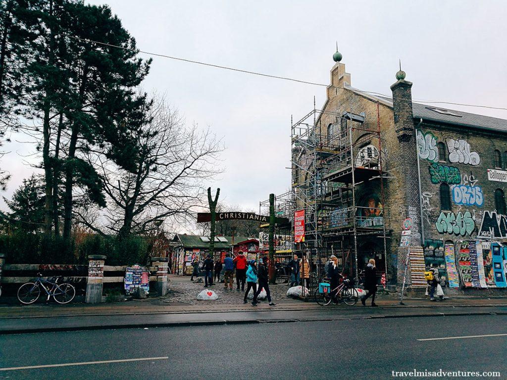 Christiania città libera Copenaghen
