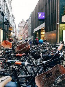 Copenhagen biciclette per visitare