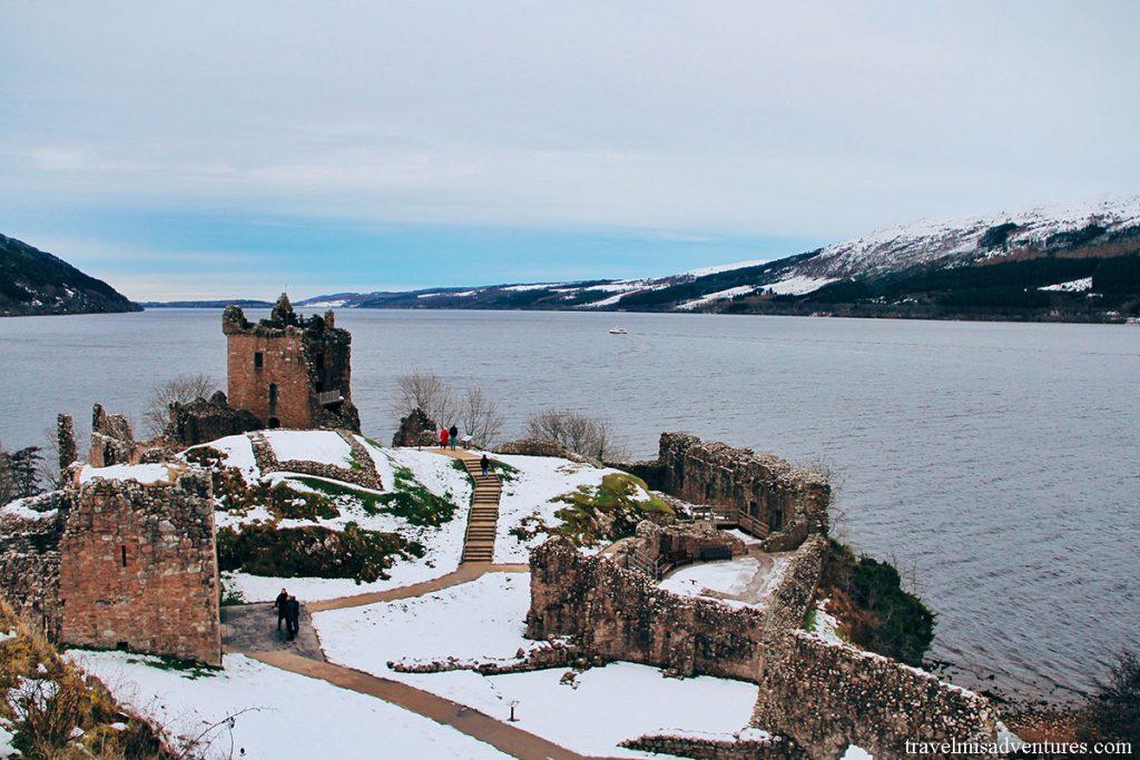 Urquhart-castello-loch-ness-visitare-scozia-in-inverno