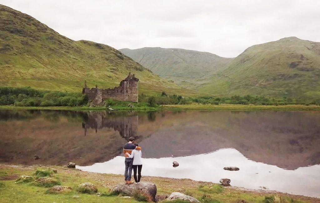 Castello di Kilchurn itinerario viaggio Scozia