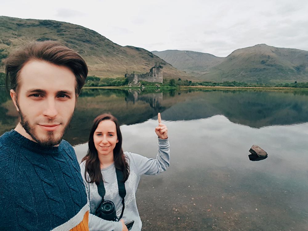 Castello di Kilchurn itinerario Scozia