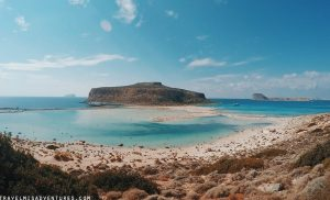 Raggiungere Balos in macchina Creta
