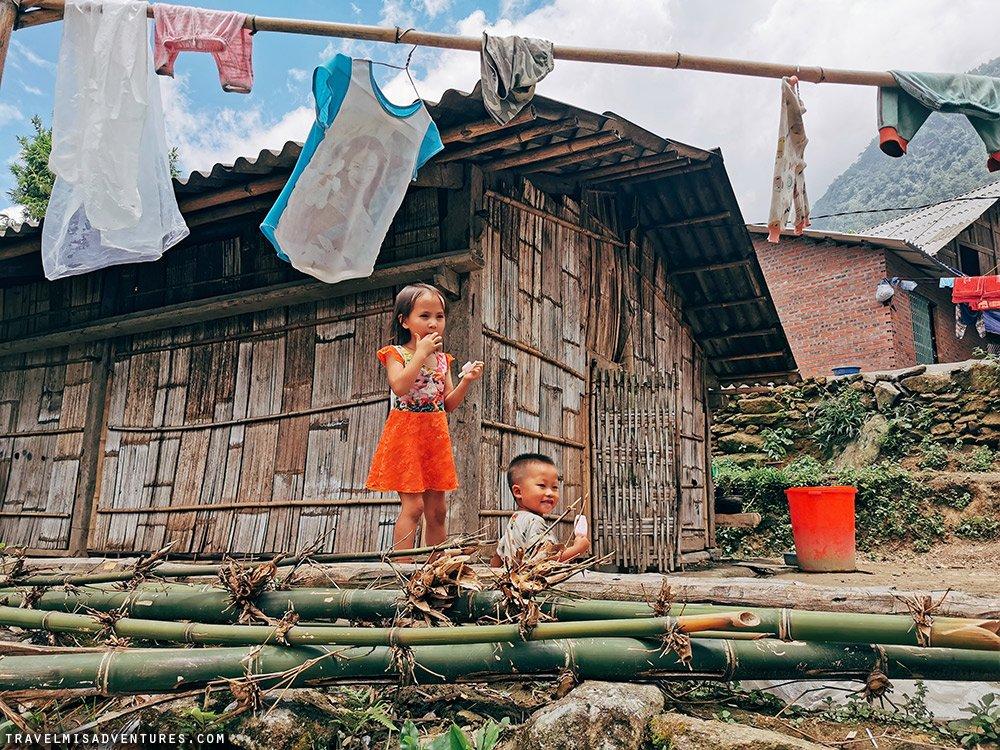 bambini sapa vietnam