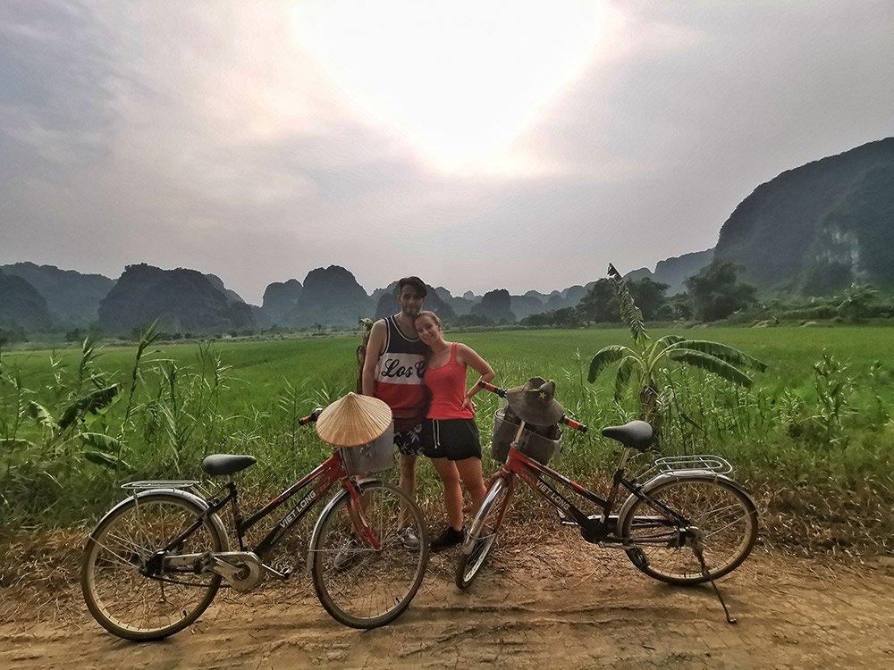 bibicletta-Ninh-Binh-campi-riso