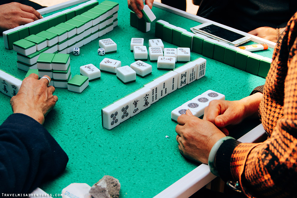 Parchi Mahjong Cina