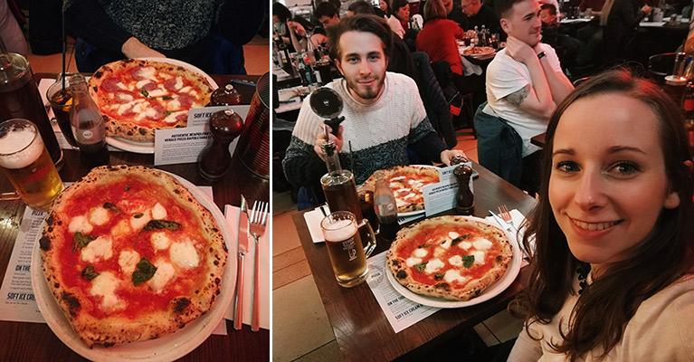 Dove mangiare pizza a Glasgow spendendo poco: Paesano pizzeria