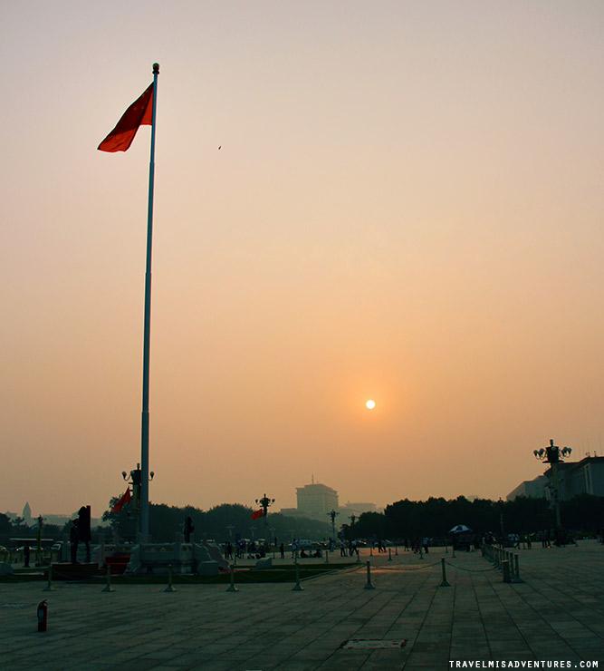 Alzabandiera a Pechino cosa vedere