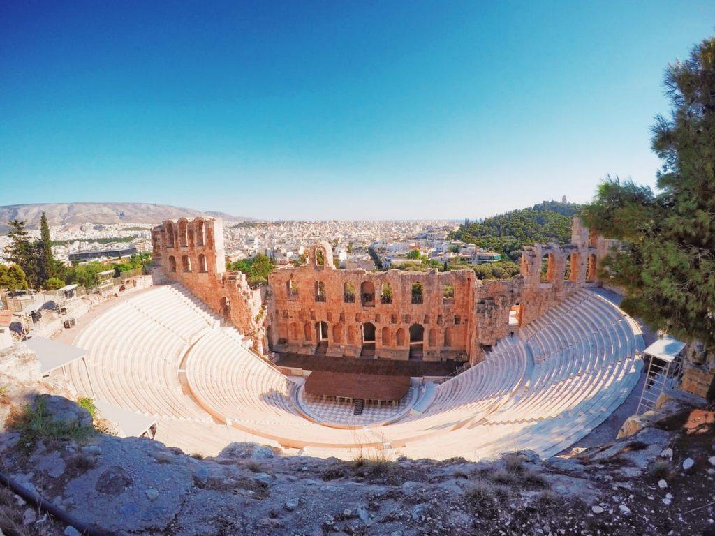 L'Odeo di Erode Attico, Atene