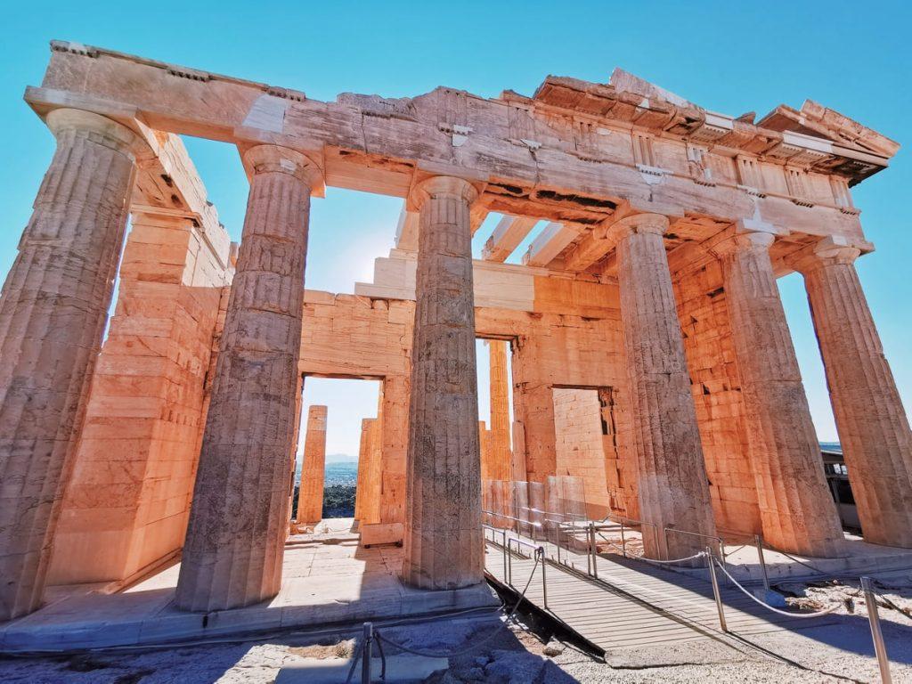 Propilei, ingresso all'Acropoli di Atene