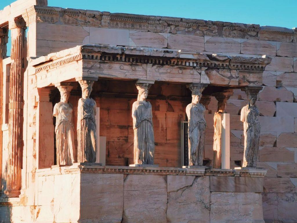 Loggia delle Cariatidi, Acropoli di Atene