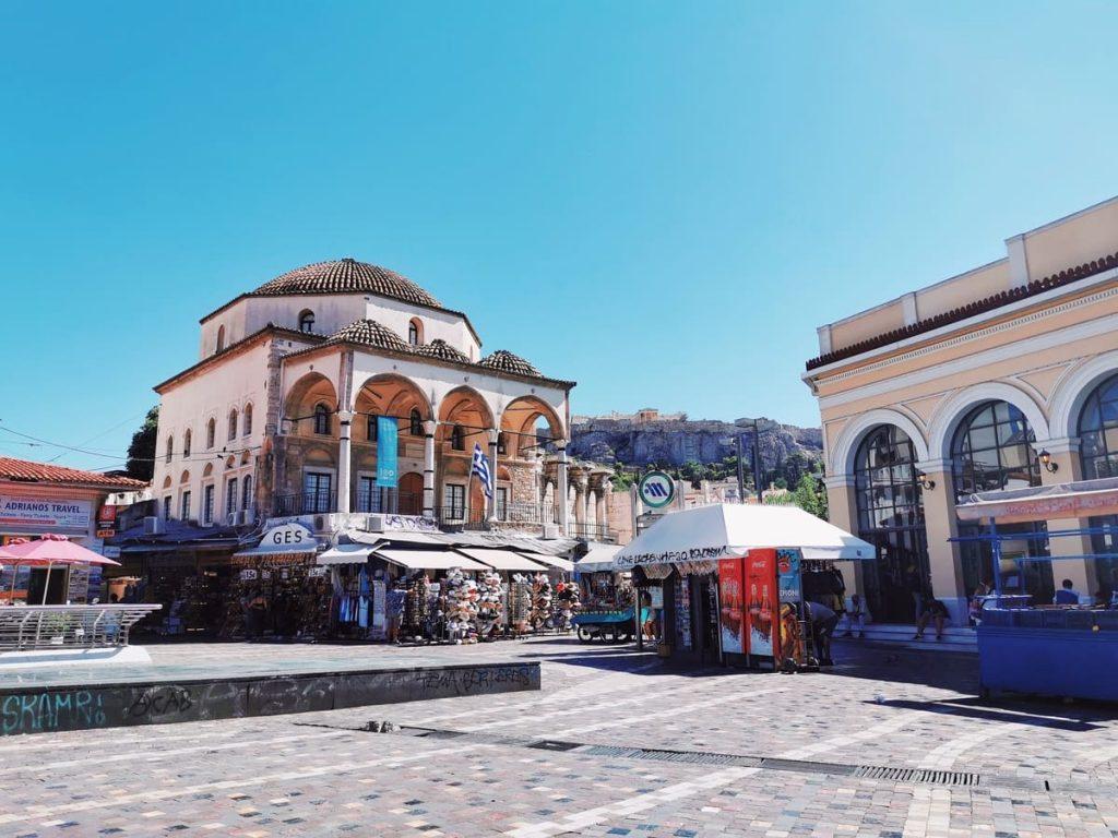 Cosa vedere ad Atene: Piazza Monastiraki