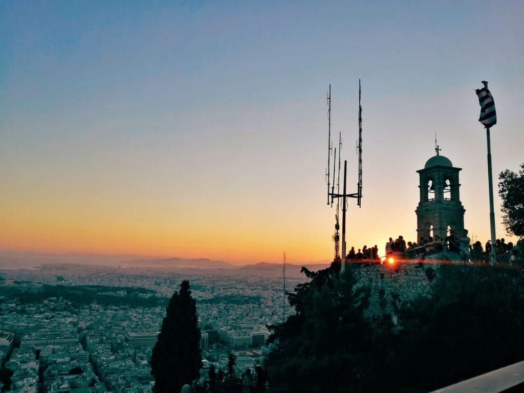 Collina del Licabetto, Atene